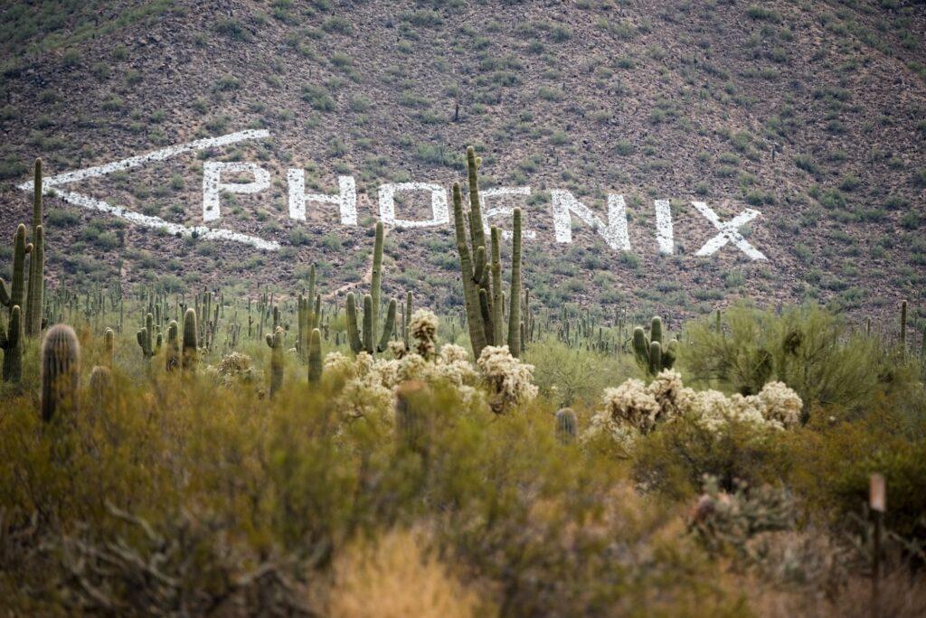 Phoenix that way <